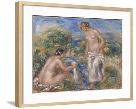 Bathing Women-Pierre-Auguste Renoir-Framed Art Print