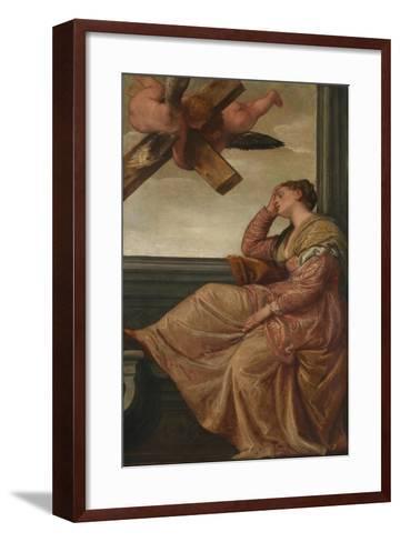 The Dream of Saint Helena, c.1570-Veronese-Framed Art Print