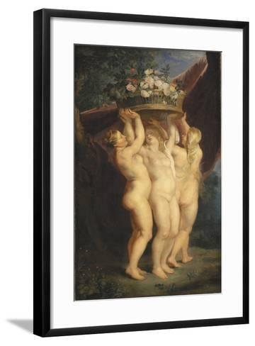 The Three Graces, 1620-1625-Peter Paul Rubens-Framed Art Print