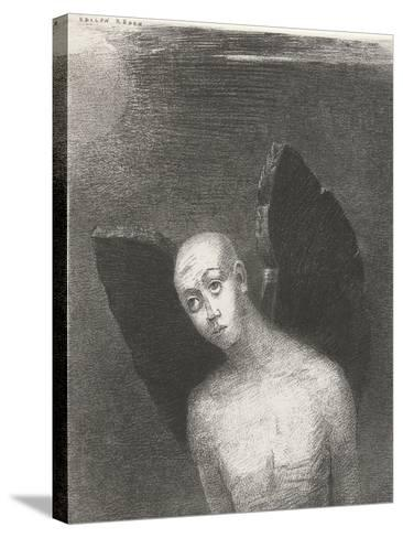 The Fallen Angel, 1886-Odilon Redon-Stretched Canvas Print
