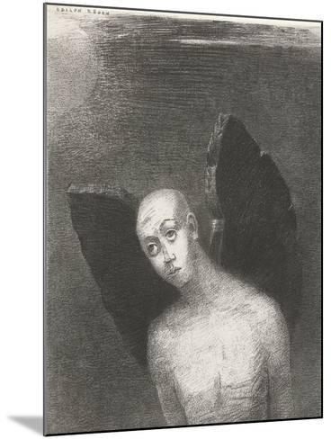 The Fallen Angel, 1886-Odilon Redon-Mounted Giclee Print