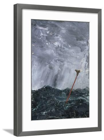 Stormy Sea Broom Buoy, 1892-August Johan Strindberg-Framed Art Print