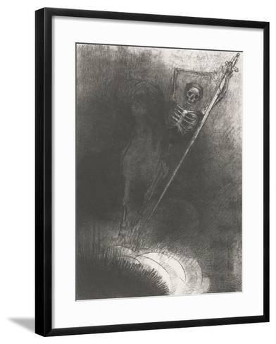 Death on a Horse, 1899-Odilon Redon-Framed Art Print
