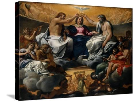 The Coronation of the Virgin, c.1595-Annibale Carracci-Stretched Canvas Print