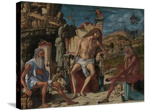 The Meditation on the Passion, c.1490-Vittore Carpaccio-Stretched Canvas Print