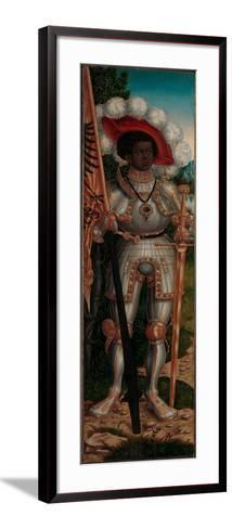 Saint Maurice, c.1520-25-Lucas the Elder Cranach-Framed Art Print