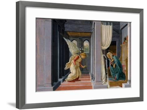 The Annunciation, c.1485-Sandro Botticelli-Framed Art Print