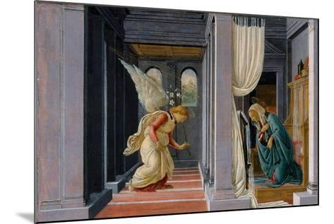 The Annunciation, c.1485-Sandro Botticelli-Mounted Giclee Print