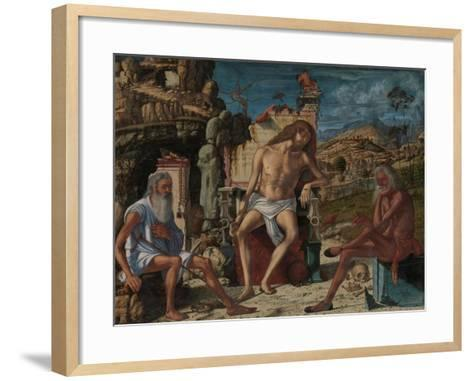 The Meditation on the Passion, c.1490-Vittore Carpaccio-Framed Art Print
