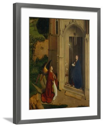 The Annunciation, c.1450-Petrus Christus-Framed Art Print