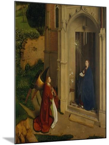 The Annunciation, c.1450-Petrus Christus-Mounted Giclee Print