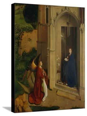 The Annunciation, c.1450-Petrus Christus-Stretched Canvas Print