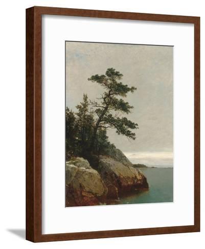 The Old Pine, Darien, Connecticut, 1872-John Frederick Kensett-Framed Art Print