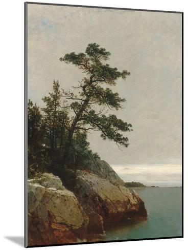 The Old Pine, Darien, Connecticut, 1872-John Frederick Kensett-Mounted Giclee Print