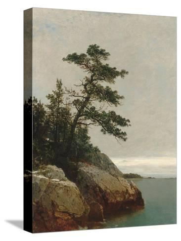 The Old Pine, Darien, Connecticut, 1872-John Frederick Kensett-Stretched Canvas Print
