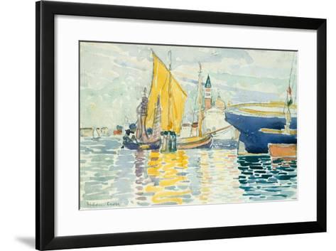 Venice-The Giudecca, 1903-Henri-Edmond Cross-Framed Art Print