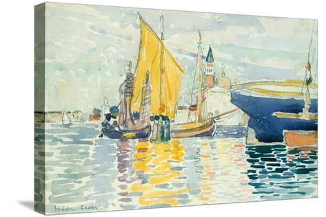 Venice-The Giudecca, 1903-Henri-Edmond Cross-Stretched Canvas Print