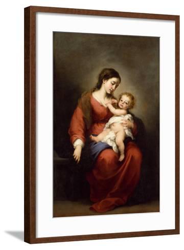 Virgin and Child, c.1670-72-Bartolome Esteban Murillo-Framed Art Print
