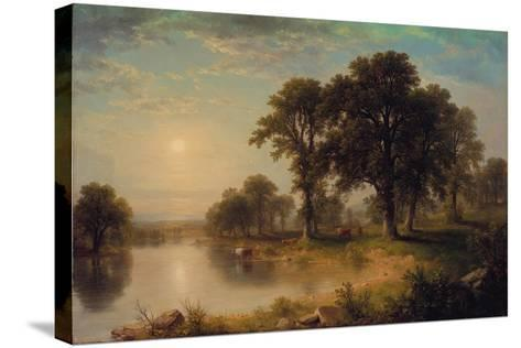 Summer Afternoon, 1865-Asher Brown Durand-Stretched Canvas Print