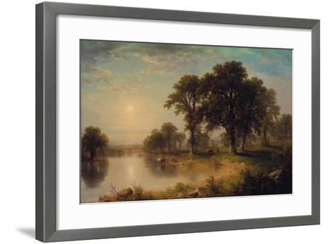 Summer Afternoon, 1865-Asher Brown Durand-Framed Art Print
