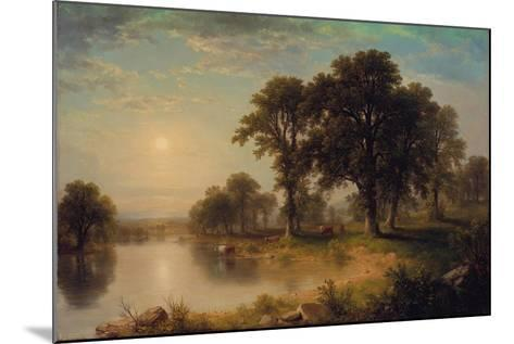 Summer Afternoon, 1865-Asher Brown Durand-Mounted Giclee Print