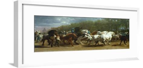 The Horse Fair, 1852-55-Rosa Bonheur-Framed Art Print