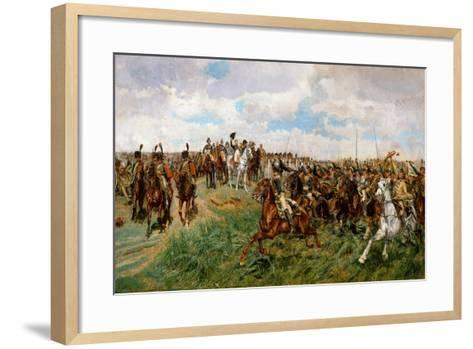 1807, Friedland-Jean-Louis Ernest Meissonier-Framed Art Print