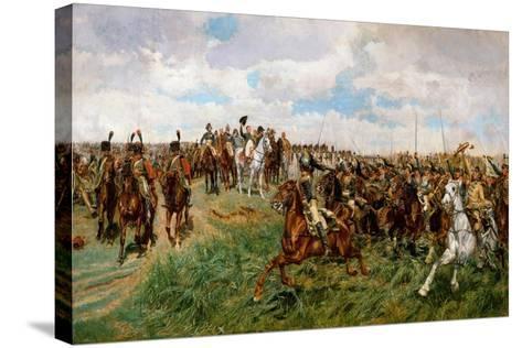 1807, Friedland-Jean-Louis Ernest Meissonier-Stretched Canvas Print