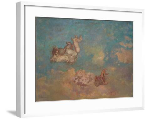 The Chariot of Apollo, 1905-16-Odilon Redon-Framed Art Print