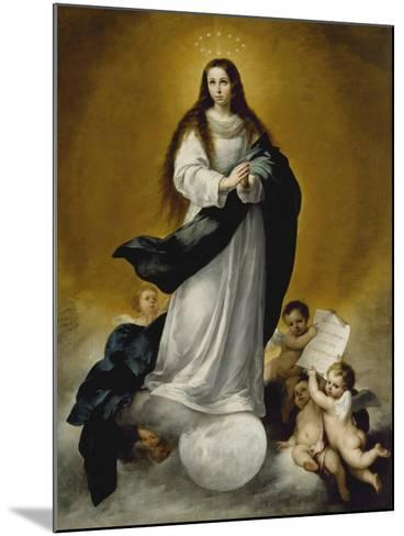 The Virgin of the Immaculate Conception, c.1660-Bartolome Esteban Murillo-Mounted Giclee Print
