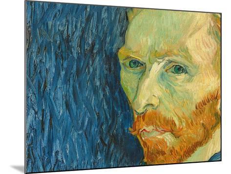 Self-Portrait, 1889-Vincent van Gogh-Mounted Giclee Print
