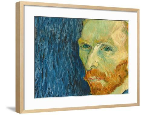 Self-Portrait, 1889-Vincent van Gogh-Framed Art Print