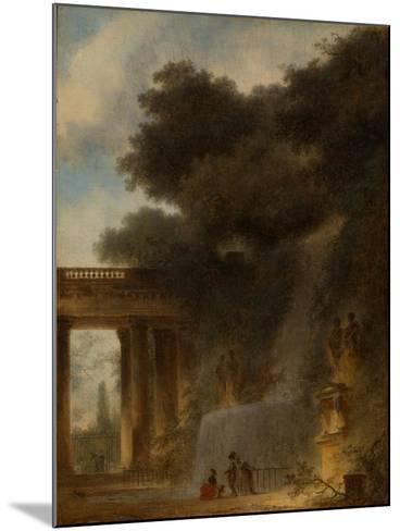 The Cascade, c.1775-Jean-Honore Fragonard-Mounted Giclee Print