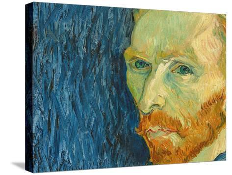 Self-Portrait, 1889-Vincent van Gogh-Stretched Canvas Print