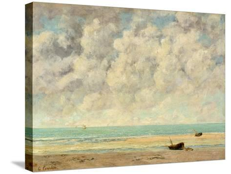 The Calm Sea, 1869-Gustave Courbet-Stretched Canvas Print