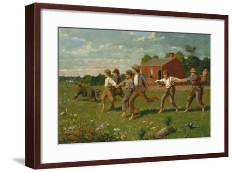 Snap the Whip, 1872-Winslow Homer-Framed Art Print