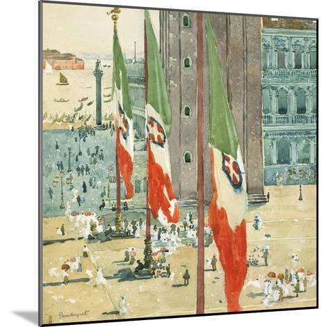 Piazza di San Marco, c.1898–99-Maurice Brazil Prendergast-Mounted Giclee Print