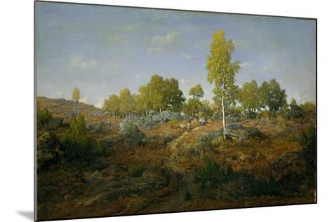 A Path among the Rocks, c.1861-Pierre Etienne Theodore Rousseau-Mounted Giclee Print