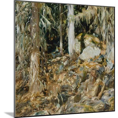 The Hermit (Il solitario), 1908-John Singer Sargent-Mounted Giclee Print