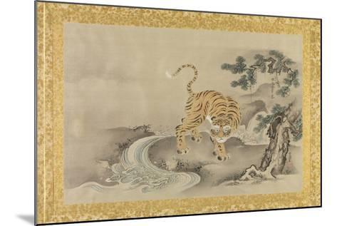 Album of Copies of Chinese Paintings, Album Leaf-Kano Tsunenobu-Mounted Giclee Print