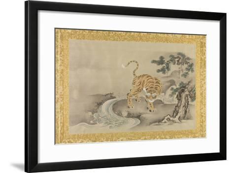 Album of Copies of Chinese Paintings, Album Leaf-Kano Tsunenobu-Framed Art Print
