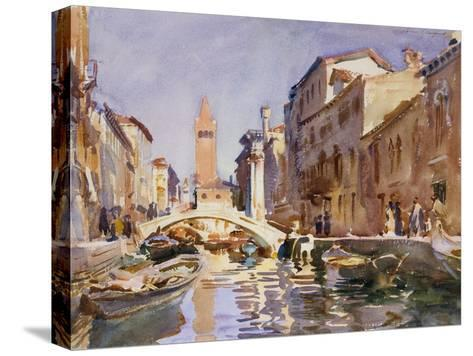 Venetian Canal, 1913-John Singer Sargent-Stretched Canvas Print