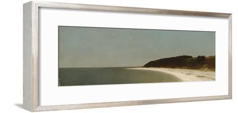 Eaton's Neck, Long Island, 1872-John Frederick Kensett-Framed Art Print