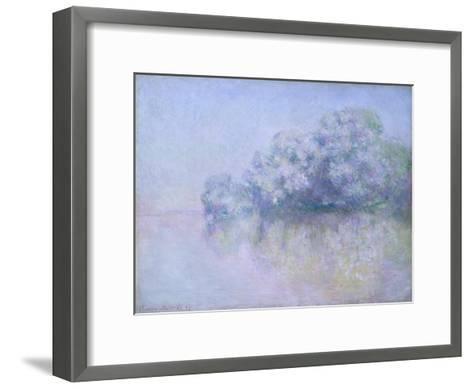 ?le aux Orties near Vernon, 1897-Claude Monet-Framed Art Print