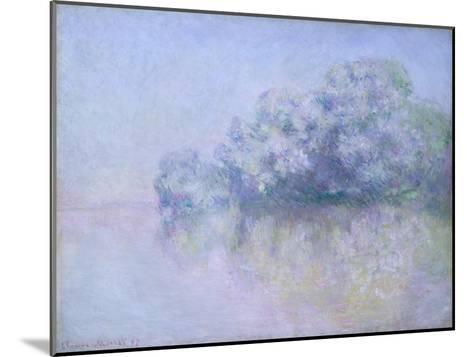 ?le aux Orties near Vernon, 1897-Claude Monet-Mounted Giclee Print