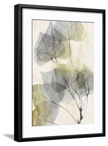 Golden Flaked 1-Albert Koetsier-Framed Art Print