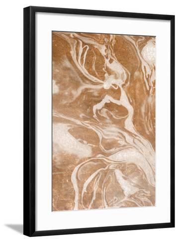 Cosmic Copper 2-Kimberly Allen-Framed Art Print