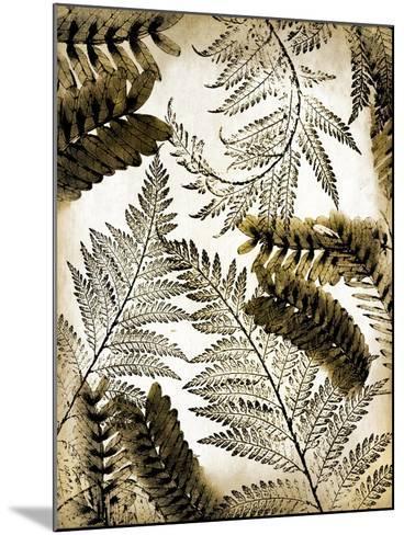 Gold Palm 1-Kimberly Allen-Mounted Art Print