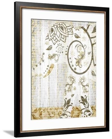 Tribal Elephant 2-Kimberly Allen-Framed Art Print