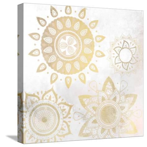 Mandala Golden 1-Kimberly Allen-Stretched Canvas Print